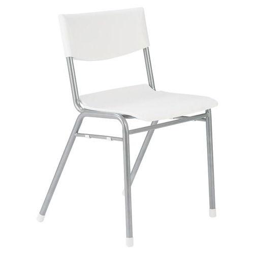 【廃番】学校(スクール)家具 スクール・セミナー用スッキングチェア 学習椅子 TMC-430 固定脚 肘なし ヌードのメイン画像