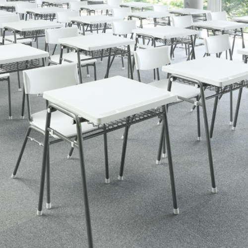 学校(スクール)家具 アイコ スクール・セミナーデスク 学習机 TMT-6052 W670×D510×H700(mm)商品画像7