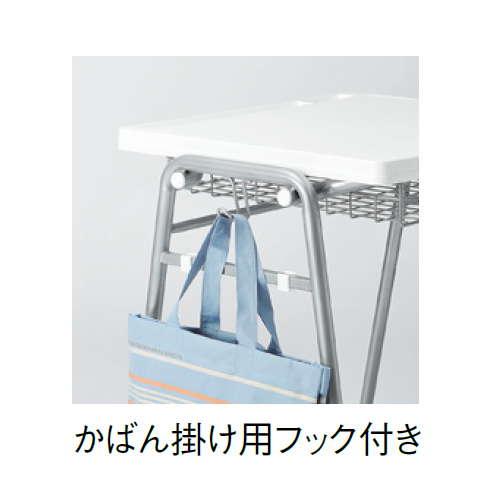 学校(スクール)家具 アイコ スクール・セミナーデスク 学習机 TMT-6052 W670×D510×H700(mm)商品画像8