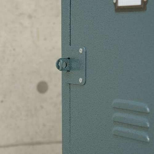 チェスト スチール製 TPN-30 ラルド 2D ハンマートーン仕上げ キャスター付き W390×D370×H750(mm)商品画像5