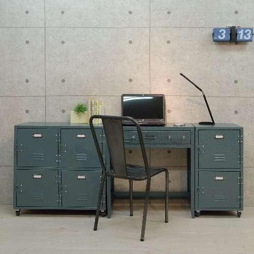 デスク スチール製 AZUMAYA(東谷) TPN-32 ラルド ハンマートーン仕上げ W700×D350×H750(mm)商品画像10