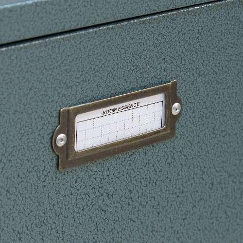 チェスト スチール製 ラルド シューズラック 3D ハンマートーン仕上げ 4扉連動 W500×D150×H1395(mm) AZ-TPN-34商品画像10