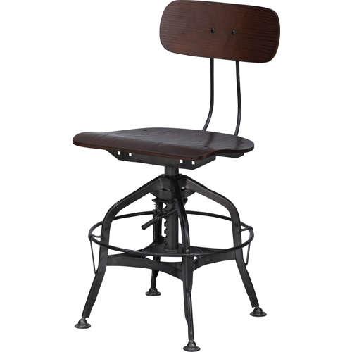 チェア(椅子) AZUMAYA(東谷) デザインチェア TTF-424BR ブラウン色商品画像2