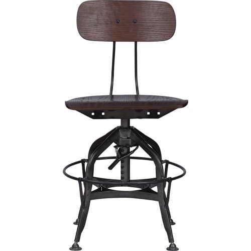 チェア(椅子) AZUMAYA(東谷) デザインチェア TTF-424BR ブラウン色商品画像3