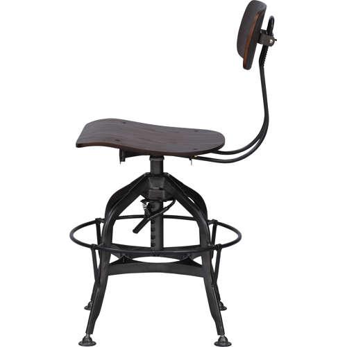 チェア(椅子) AZUMAYA(東谷) デザインチェア TTF-424BR ブラウン色商品画像4