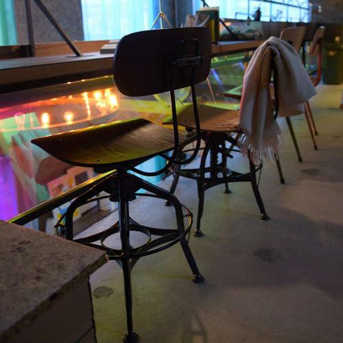 チェア(椅子) AZUMAYA(東谷) デザインチェア TTF-424BR ブラウン色商品画像5