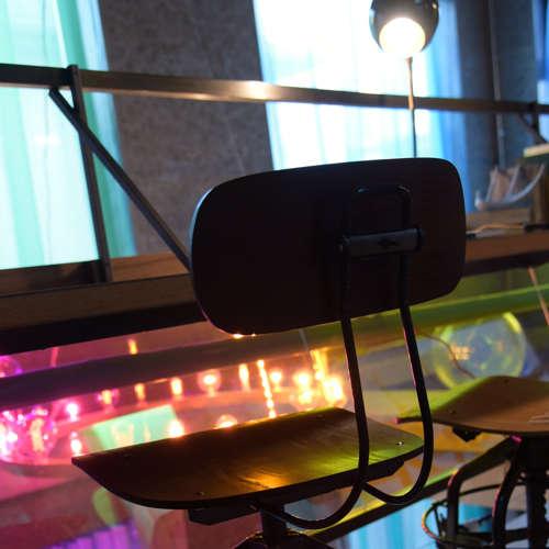 チェア(椅子) AZUMAYA(東谷) デザインチェア TTF-424BR ブラウン色商品画像6