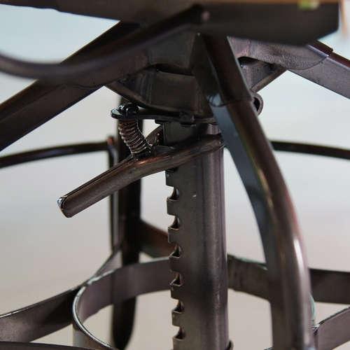 チェア(椅子) AZUMAYA(東谷) デザインチェア TTF-424BR ブラウン色商品画像7