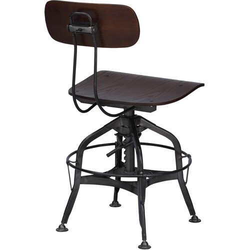 チェア(椅子) AZUMAYA(東谷) デザインチェア TTF-424BR ブラウン色のメイン画像