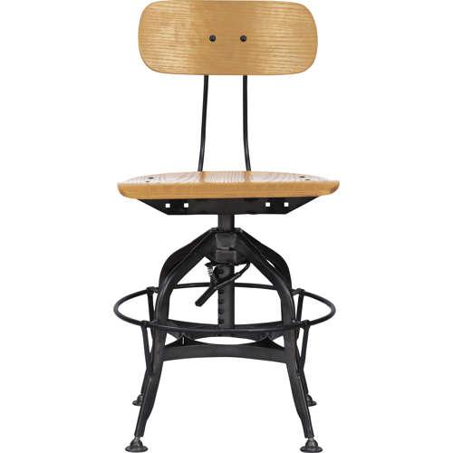 チェア(椅子) AZUMAYA(東谷) デザインチェア TTF-424NA ナチュラル色商品画像2