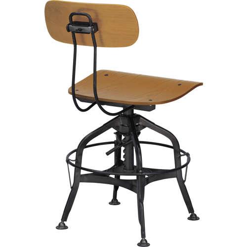 チェア(椅子) AZUMAYA(東谷) デザインチェア TTF-424NA ナチュラル色商品画像3