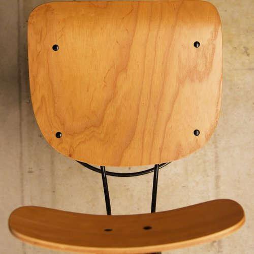 チェア(椅子) AZUMAYA(東谷) デザインチェア TTF-424NA ナチュラル色商品画像4