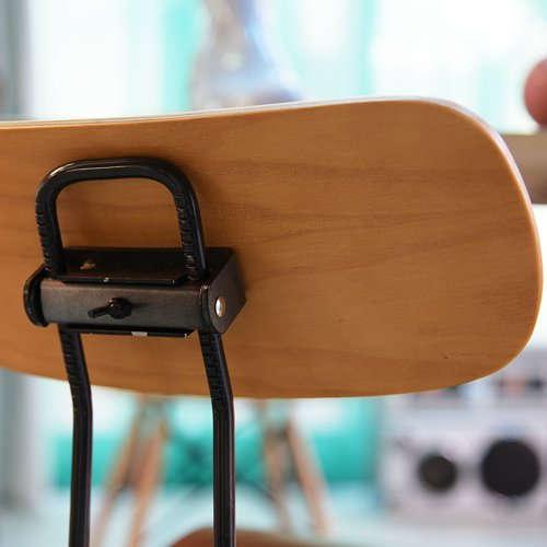 チェア(椅子) AZUMAYA(東谷) デザインチェア TTF-424NA ナチュラル色商品画像6