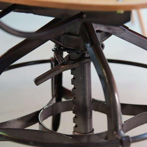 チェア(椅子) AZUMAYA(東谷) デザインチェア TTF-424NA ナチュラル色商品画像7