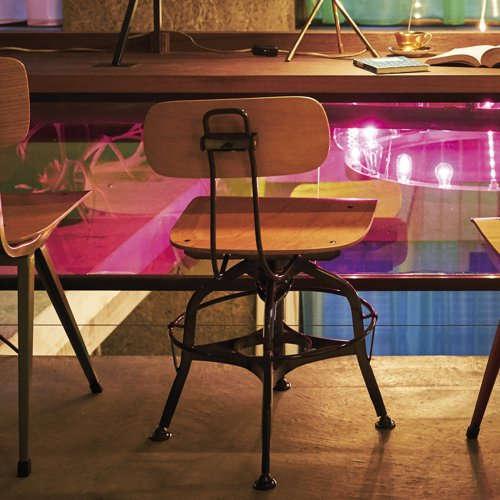 チェア(椅子) AZUMAYA(東谷) デザインチェア TTF-424NA ナチュラル色商品画像8