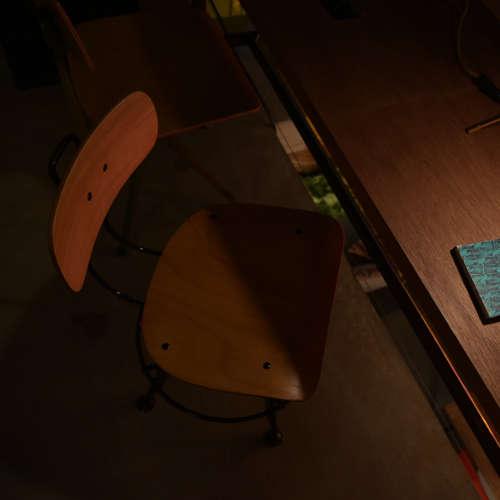 チェア(椅子) AZUMAYA(東谷) デザインチェア TTF-424NA ナチュラル色商品画像9