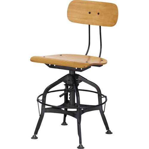 チェア(椅子) AZUMAYA(東谷) デザインチェア TTF-424NA ナチュラル色のメイン画像