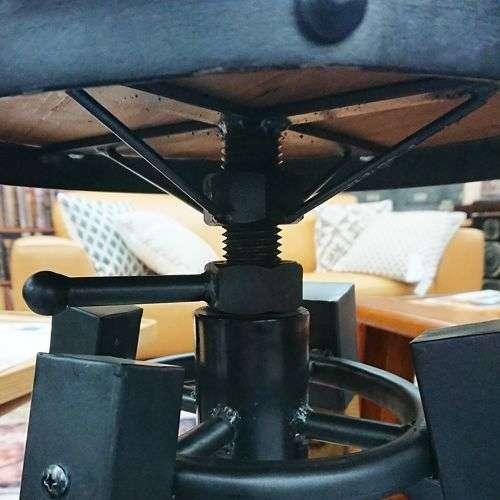 ハイスツール AZUMAYA(東谷) カペルスツール ハイタイプ TTF-818 天然木 座面高さ調整商品画像4