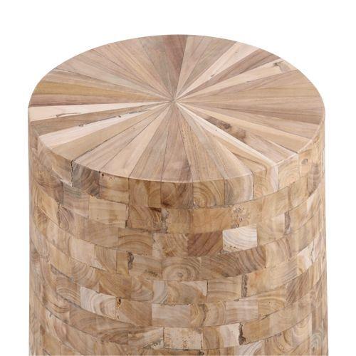 スツール ウッドスツール 組み合わせ成型 天然木(チーク) AZ-TTF-910B商品画像2
