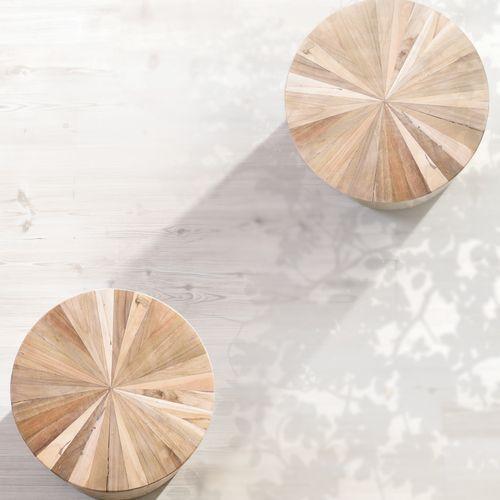 スツール ウッドスツール 組み合わせ成型 天然木(チーク) AZ-TTF-910B商品画像3