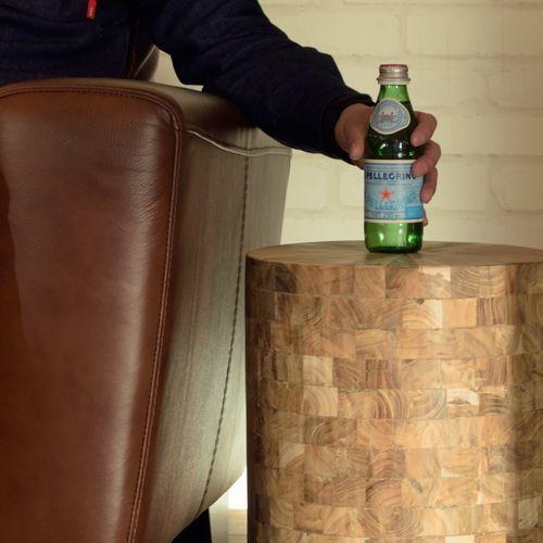 スツール ウッドスツール 組み合わせ成型 天然木(チーク) AZ-TTF-910B商品画像5