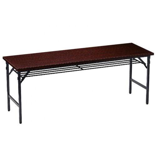 折りたたみテーブル 共貼り ワイド脚 TW-1860 W1800×D600×H700(mm)のメイン画像