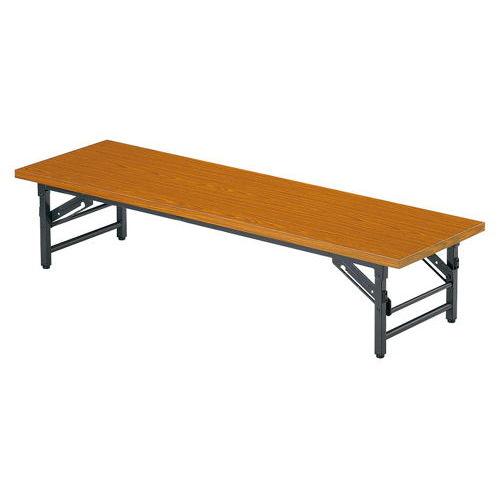 折りたたみテーブル 座卓 共貼り TZテーブル TZ-1545 W1500×D450×H330(mm)のメイン画像