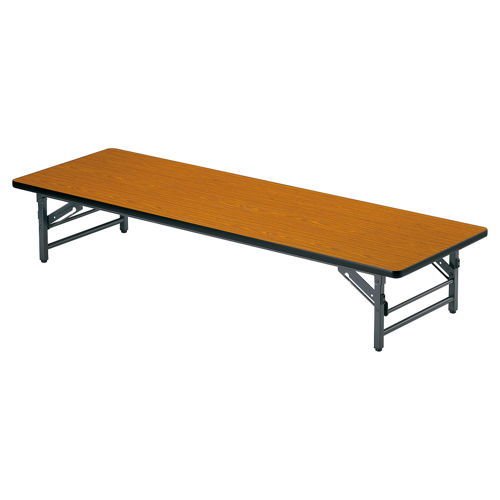 折りたたみテーブル 座卓 ソフトエッジ TZ-1860SE W1800×D600×H330(mm)のメイン画像