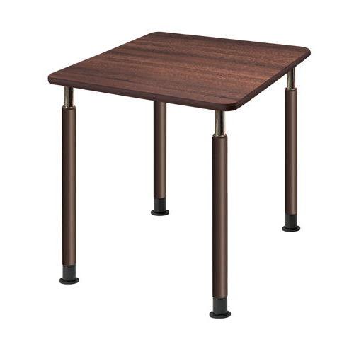 介護テーブル 天板上下昇降式 4本固定脚 UFT-0909A W900×D900×H596~796(mm)のメイン画像