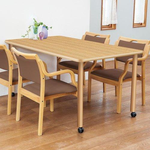 介護テーブル 天板上下昇降式 4本固定脚 UFT-1675A W1600×D750×H596~796(mm)商品画像8