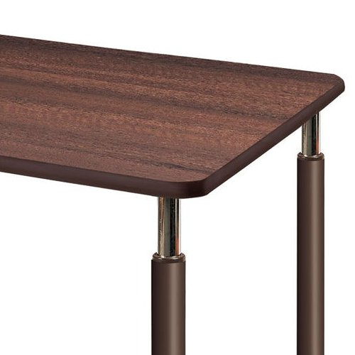 介護テーブル 天板上下昇降式 2本キャスター脚・2本固定脚 UFT-1675B W1600×D750×H596~796(mm)商品画像6