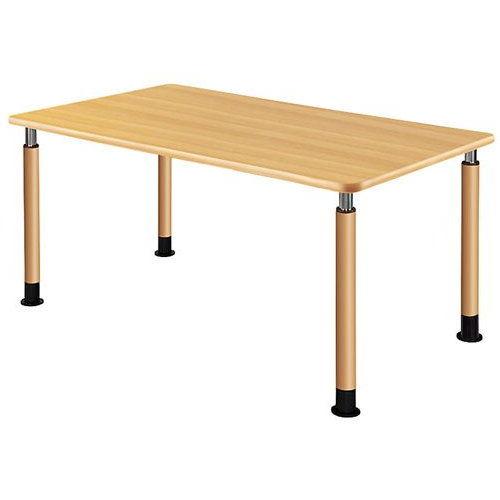 介護テーブル 天板上下昇降式 4本固定脚 UFT-1690A W1600×D900×H596~796(mm)のメイン画像