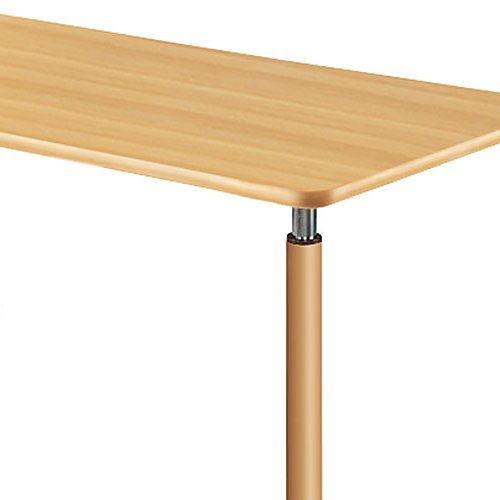 介護テーブル 天板上下昇降式 2本キャスター脚・2本固定脚 UFT-1690B W1600×D900×H596~796(mm)商品画像7