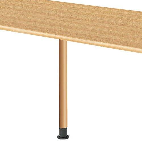 介護テーブル 天板上下昇降式 2本キャスター脚・2本固定脚(+補助固定脚1本) UFT-5T1875B W1800×D750×H596~796(mm)商品画像7