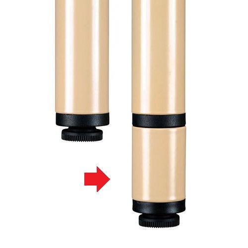 介護テーブル UFT-Sテーブル専用脚ジョイント部材 +40mmタイプ UFT-SL40 4個セット商品画像2