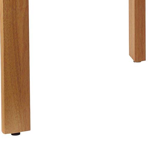 介護テーブル 井上金庫(イノウエ) 4本固定脚 UFT-W0909 W900×D900×H700(mm) 木製テーブル商品画像5