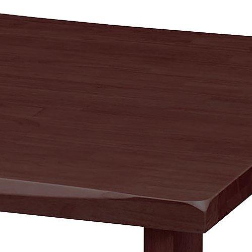 介護テーブル 井上金庫(イノウエ) 4本固定脚 UFT-W0909 W900×D900×H700(mm) 木製テーブル商品画像7