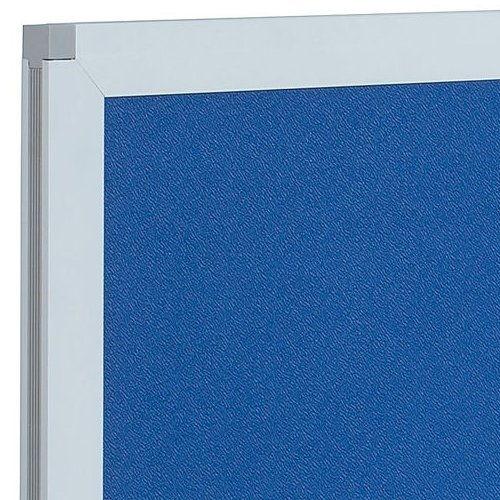 デスクトップパネル クロス仕様 ブルー色 UK-DP1400BL W1400×H350(mm)商品画像4