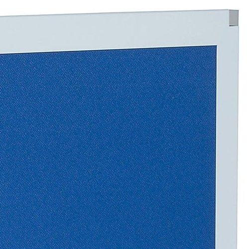 デスクトップパネル クロス仕様 ブルー色 UK-DP1400BL W1400×H350(mm)商品画像6