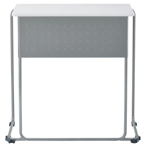 会議用テーブル UNT-6545 W735×D460×H700(mm) 連結脚 スタックテーブル商品画像5