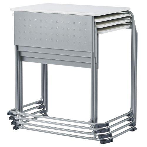 会議用テーブル UNT-6545 W735×D460×H700(mm) 連結脚 スタックテーブル商品画像7