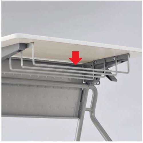 学校(スクール)家具 アイコ オプション 棚 UST-6545専用 USF-4620 W460×D200×H75(mm)のメイン画像
