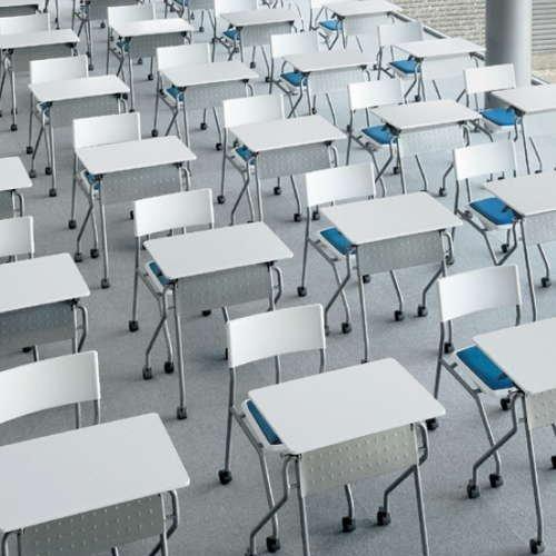 学校(スクール)家具 平行スタックテーブル UST-6545 W650×D450×H700(mm)商品画像7