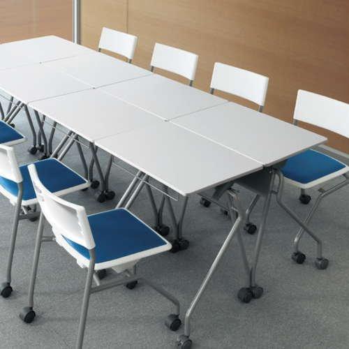 学校(スクール)家具 平行スタックテーブル UST-6545 W650×D450×H700(mm)商品画像8