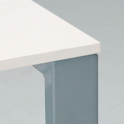 会議用テーブル 井上金庫(イノウエ) 長方形天板 UTS-1275 W1200×D750×H700(mm)商品画像4