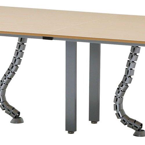 テーブル(会議用) 井上金庫(イノウエ) フリーアドレステーブル 分割天板 UTS-3612 W3600×D1200×H700(mm)商品画像8