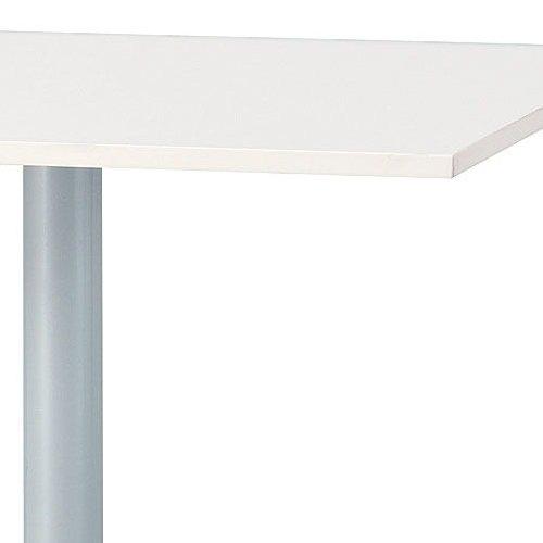 テーブル(会議用) 井上金庫(イノウエ) 正方形天板 750角 UTS-750K W750×D750×H700(mm)商品画像4