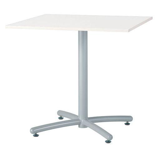 テーブル(会議用) 井上金庫(イノウエ) 正方形天板 750角 UTS-750K W750×D750×H700(mm)のメイン画像
