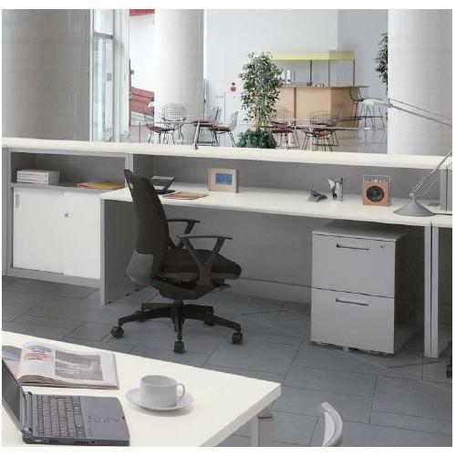 カウンター ハイカウンター XC型 鍵付き・棚付きタイプ XC0990 W900×D450×H950(mm)商品画像9
