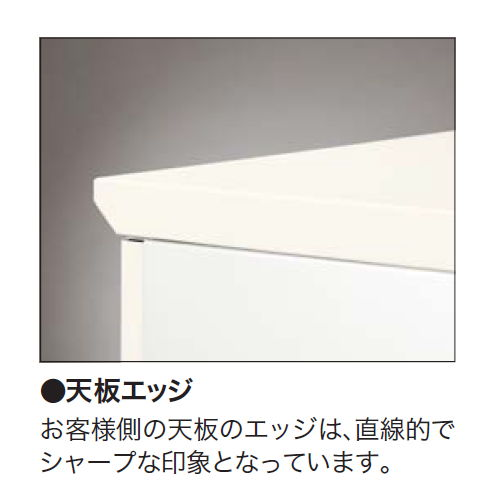 【WEB販売休止中】カウンター ローカウンター ナイキ XC型 配線ダクト付き XC1670 W1600×D700×H700(mm)商品画像6